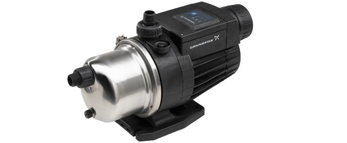 结构紧凑,将水泵,压力罐,压力开关合成一体.